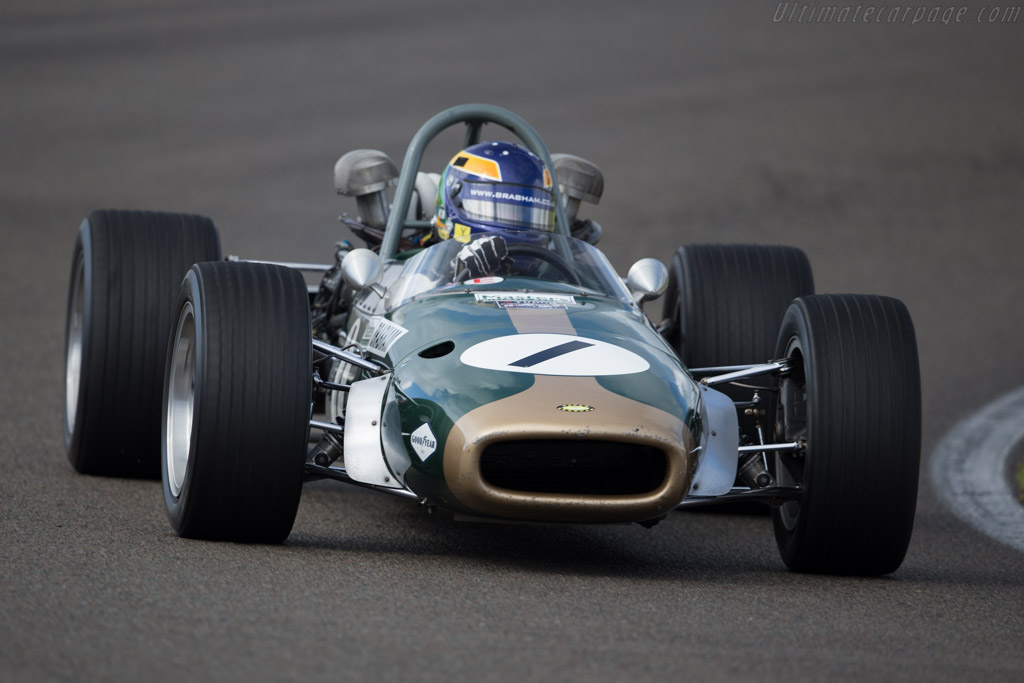 Brabham BT24 Repco  - Driver: David Brabham  - 2016 Historic Grand Prix Zandvoort