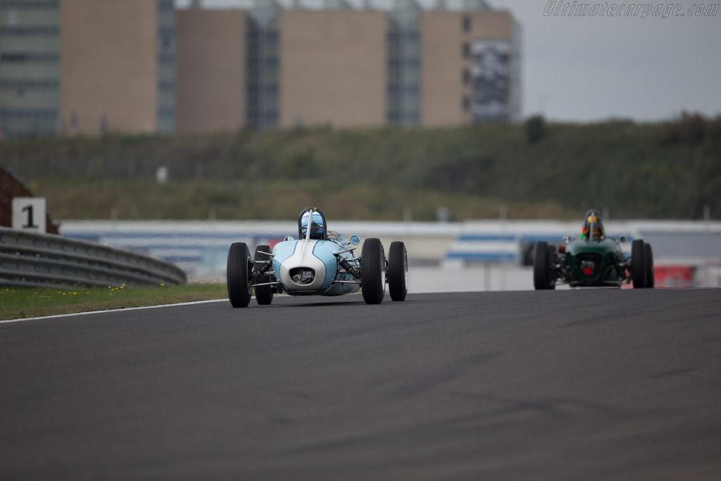 Brabham BT6  - Driver: Caroline Abbou Rossi di Montelera  - 2016 Historic Grand Prix Zandvoort