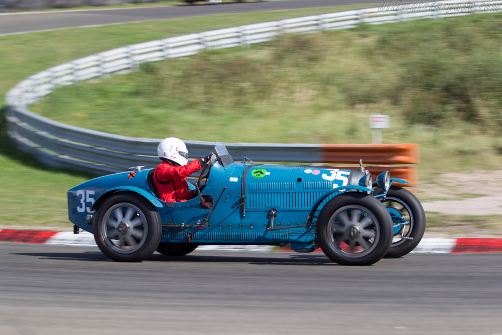 Bugatti Type 35C  - Driver: Martin Halusa / Niklas Halusa  - 2016 Historic Grand Prix Zandvoort