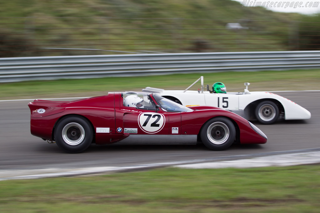 Chevron B16  - Driver: Jamie Boot  - 2016 Historic Grand Prix Zandvoort