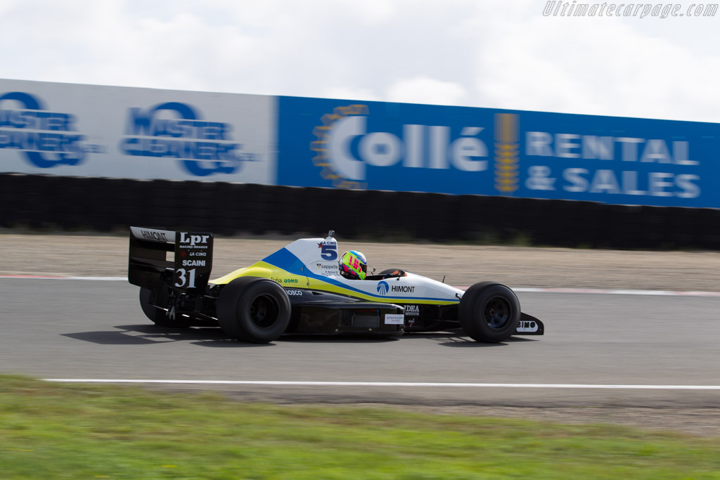 Coloni C4 Ford  - Driver: Melroy Heemskerk  - 2016 Historic Grand Prix Zandvoort