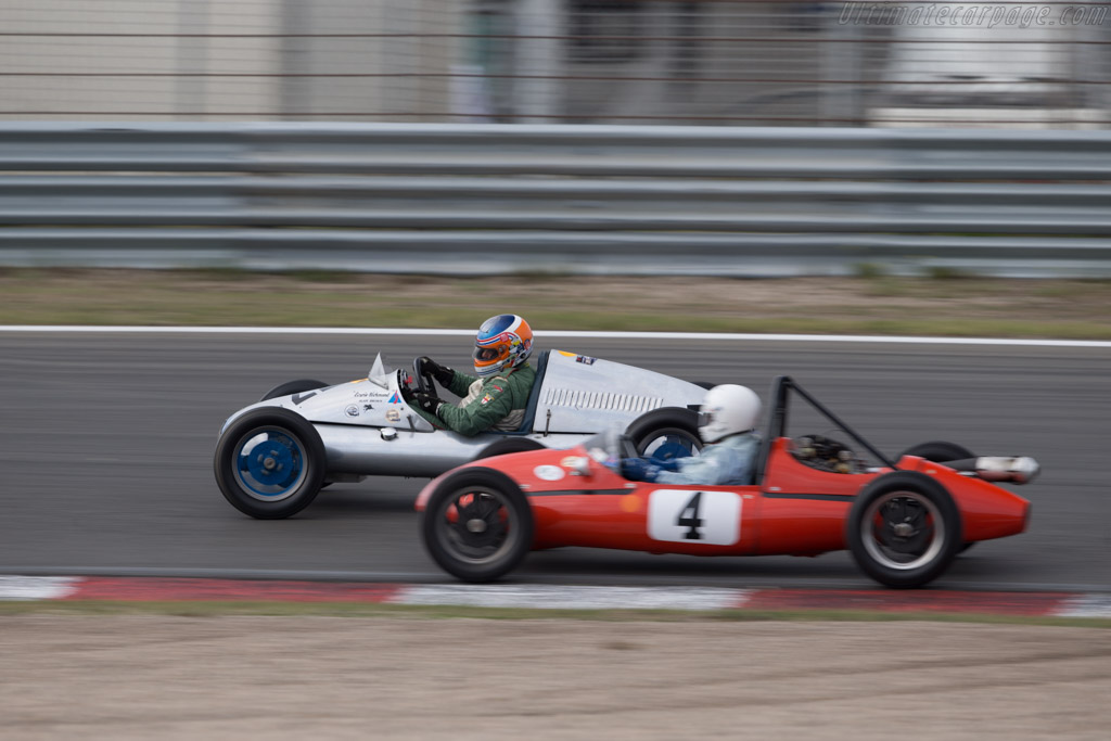 Cooper Mk 5  - Driver: Adrian van der Kroft  - 2016 Historic Grand Prix Zandvoort