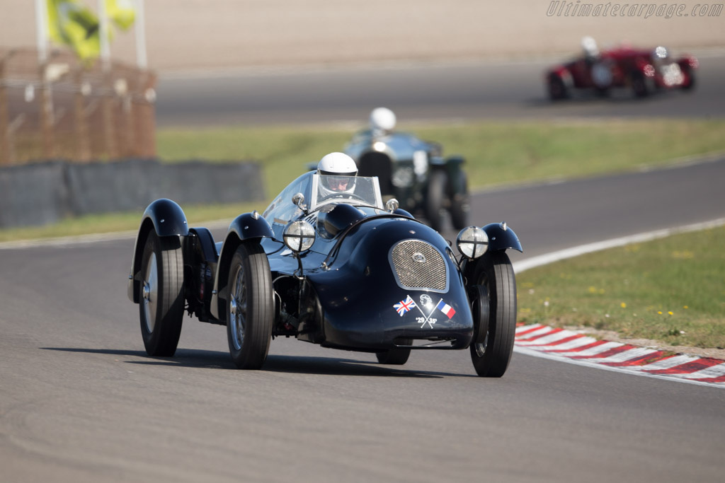 Hotchkiss AM80  - Driver: Steve Smith  - 2016 Historic Grand Prix Zandvoort