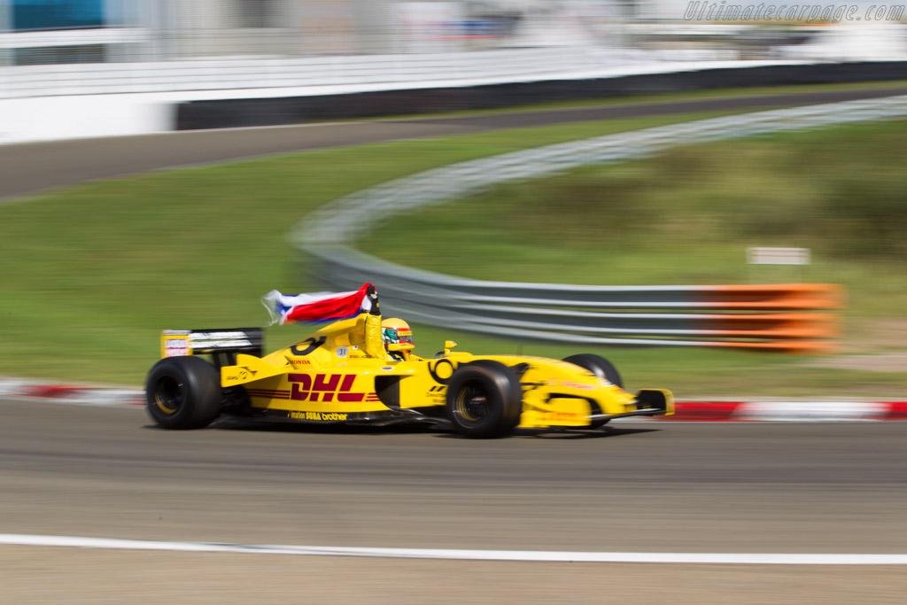 Jordan EJ12 - Chassis: EJ12/01   - 2016 Historic Grand Prix Zandvoort