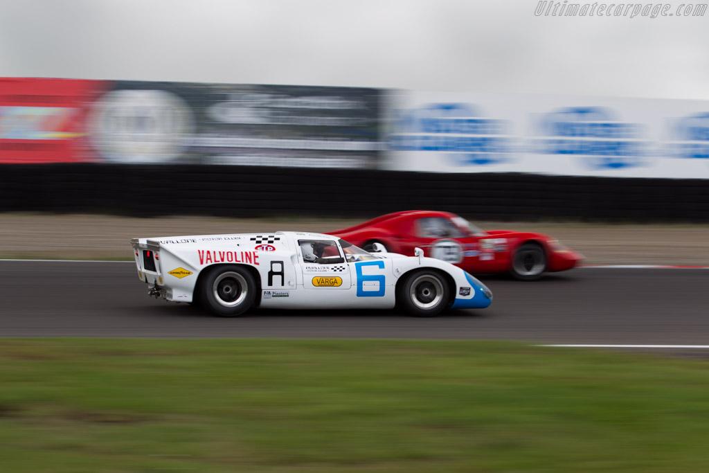 Lola T70 MK3B - Chassis: SL76/153 - Driver: Leo Voyazides / Simon Hadfield  - 2016 Historic Grand Prix Zandvoort