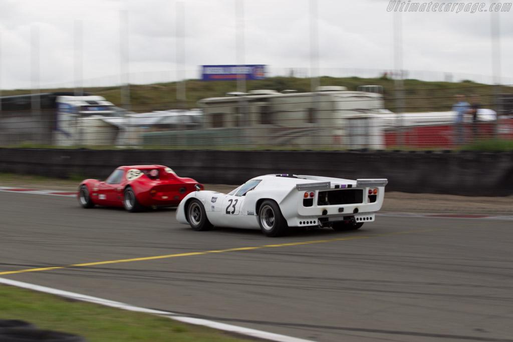Lola T70 MK3B  - Driver: Carlos Monteverde / Gary Pearson  - 2016 Historic Grand Prix Zandvoort