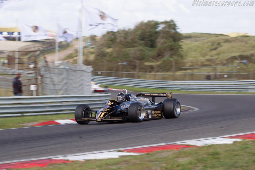 Lotus 91 Cosworth - Chassis: 91/5 - Driver: Gregory Thornton  - 2016 Historic Grand Prix Zandvoort