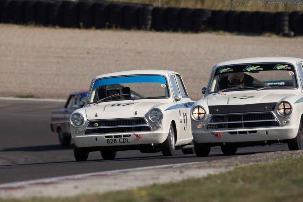 Lotus Cortina - Chassis: Z74D65931 - Driver: Carlos Monteverde / Gary Pearson  - 2016 Historic Grand Prix Zandvoort