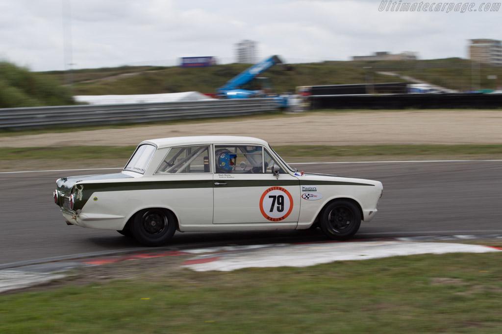 Lotus Cortina - Chassis: Z74C065803 - Driver: Mark Martin / Andrew Haddon  - 2016 Historic Grand Prix Zandvoort