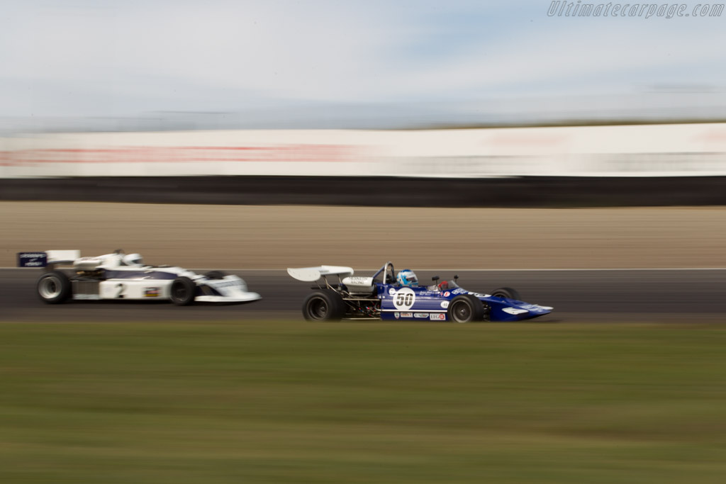 March 712 - Chassis: 712-5 - Driver: Paul Bason  - 2016 Historic Grand Prix Zandvoort