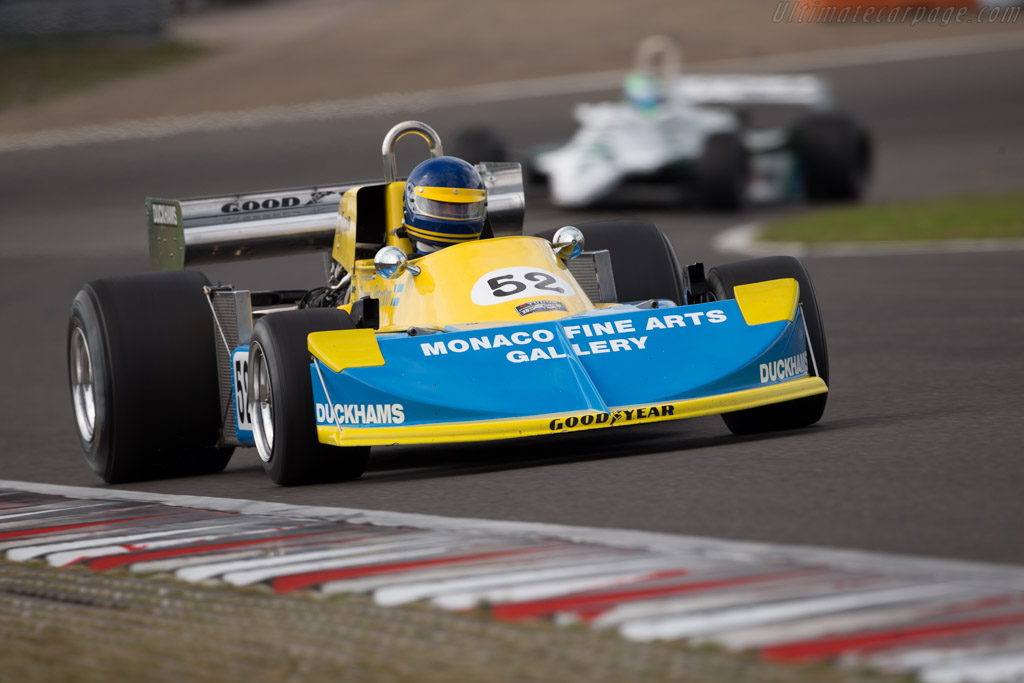 March 761 Cosworth - Chassis: 761-03 - Driver: Frits van Eerd  - 2016 Historic Grand Prix Zandvoort