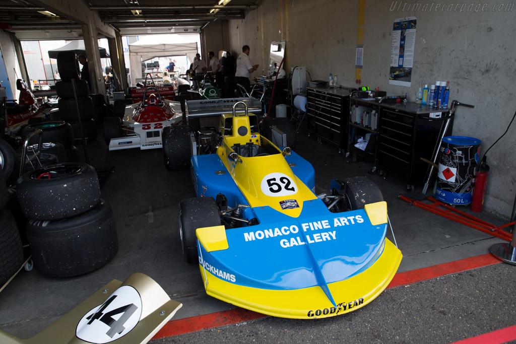 March 761 Cosworth - Chassis: 761-03 - Driver: Frits van Eerd  - 2016 Historic Grand Prix Zandvoort