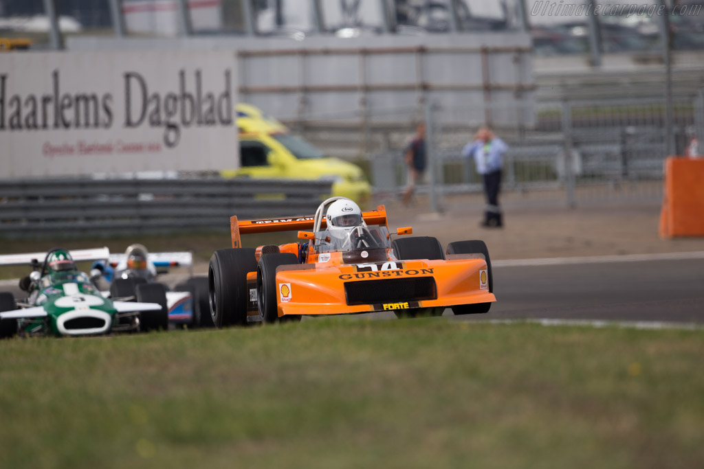 March 79B - Chassis: 79B-4 - Driver: Richard Evans  - 2016 Historic Grand Prix Zandvoort