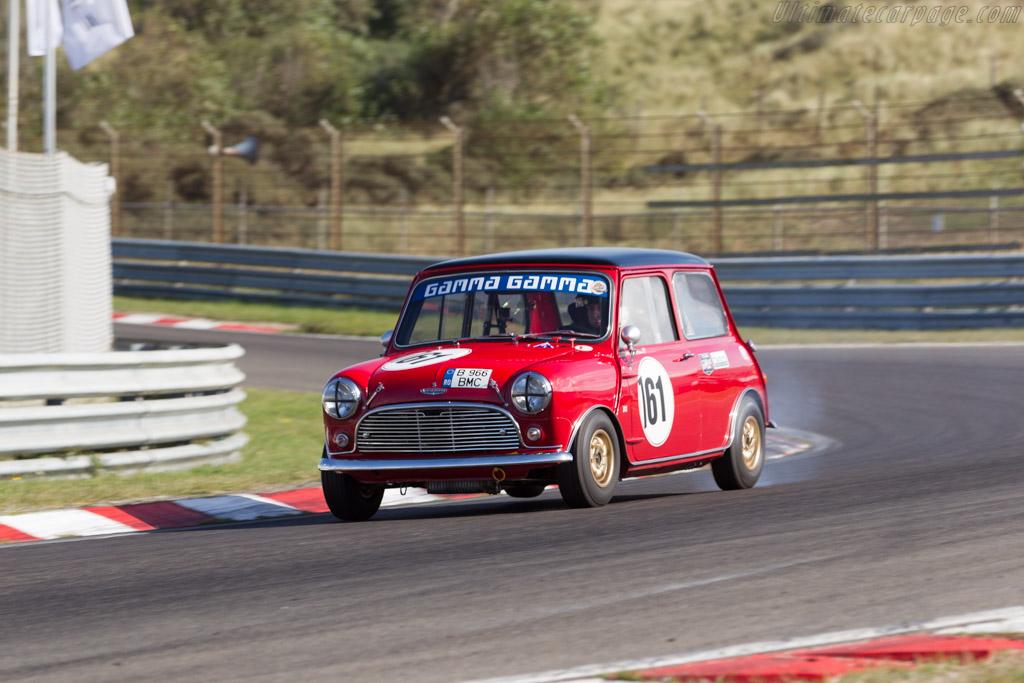 Morris Mini Cooper S  - Driver: Rene de Vries  - 2016 Historic Grand Prix Zandvoort