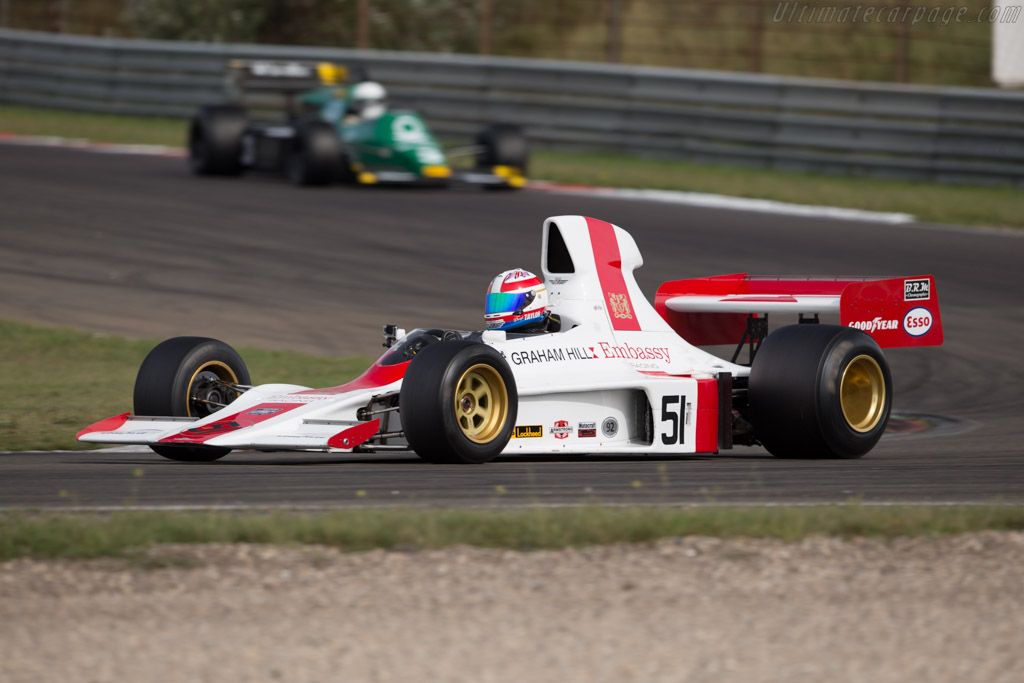 Shadow DN1 Cosworth - Chassis: DN1/3A - Driver: Daryl Taylor  - 2016 Historic Grand Prix Zandvoort