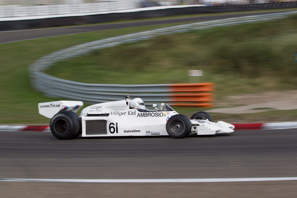 Shadow DN8 Cosworth - Chassis: DN8/6A - Driver: Jason Wright  - 2016 Historic Grand Prix Zandvoort