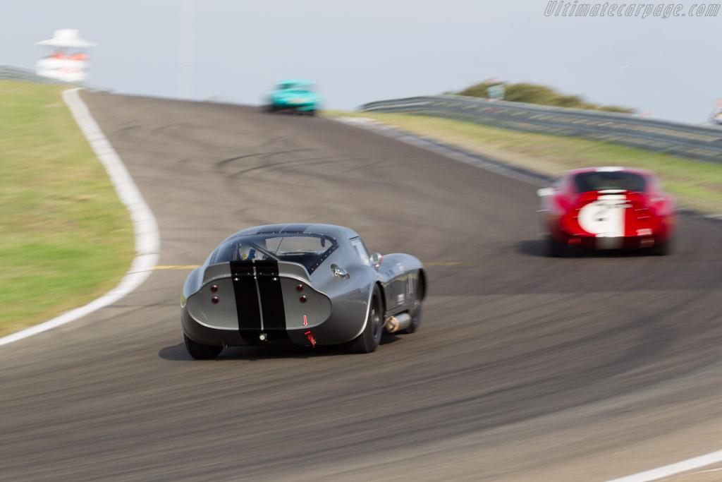 Shelby Daytona Cobra  - Driver: Carlos Monteverde / Gary Pearson  - 2016 Historic Grand Prix Zandvoort