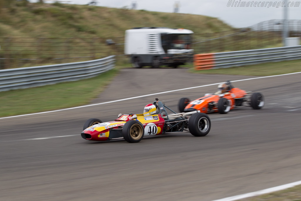 Tecno F3 - Chassis: 00342 - Driver: Philippe Bonny  - 2016 Historic Grand Prix Zandvoort