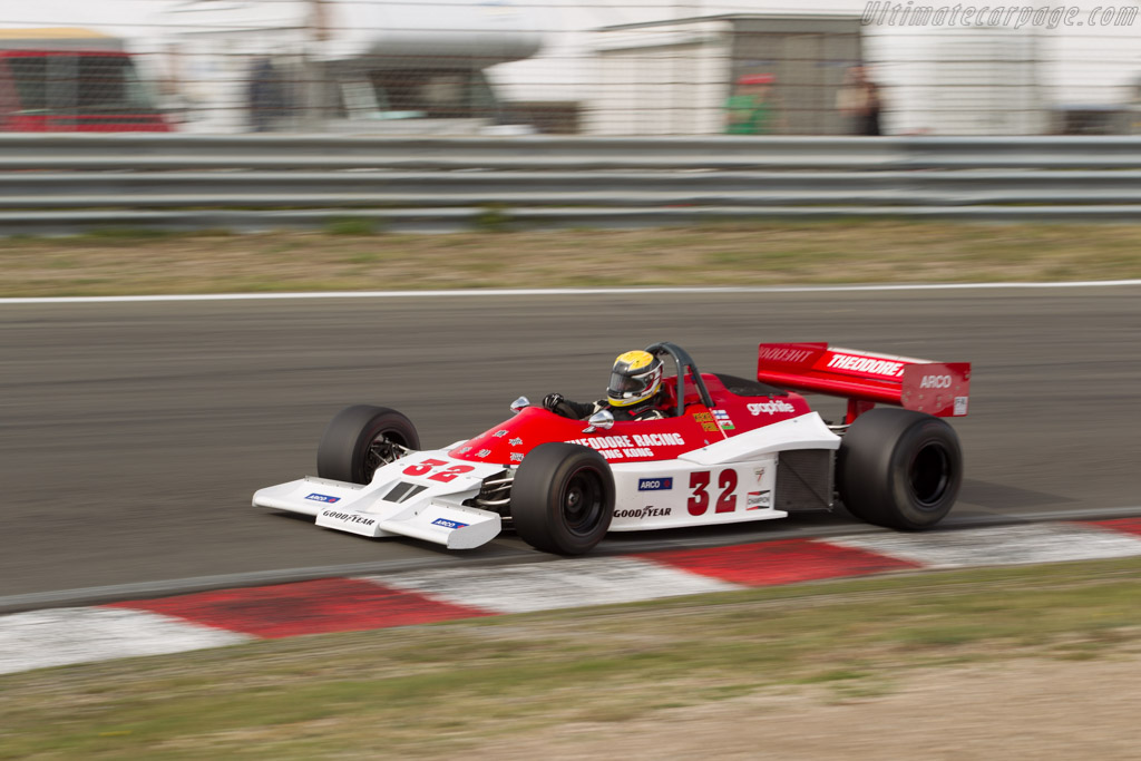Theodore TR1 Cosworth - Chassis: TR1-2 - Driver: Phil Hall  - 2016 Historic Grand Prix Zandvoort