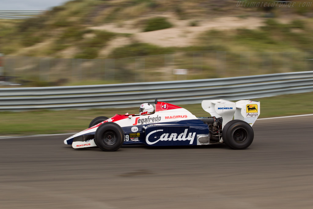 Toleman TG184 Hart - Chassis: TG184-01 - Driver: Alastair Davidson  - 2016 Historic Grand Prix Zandvoort