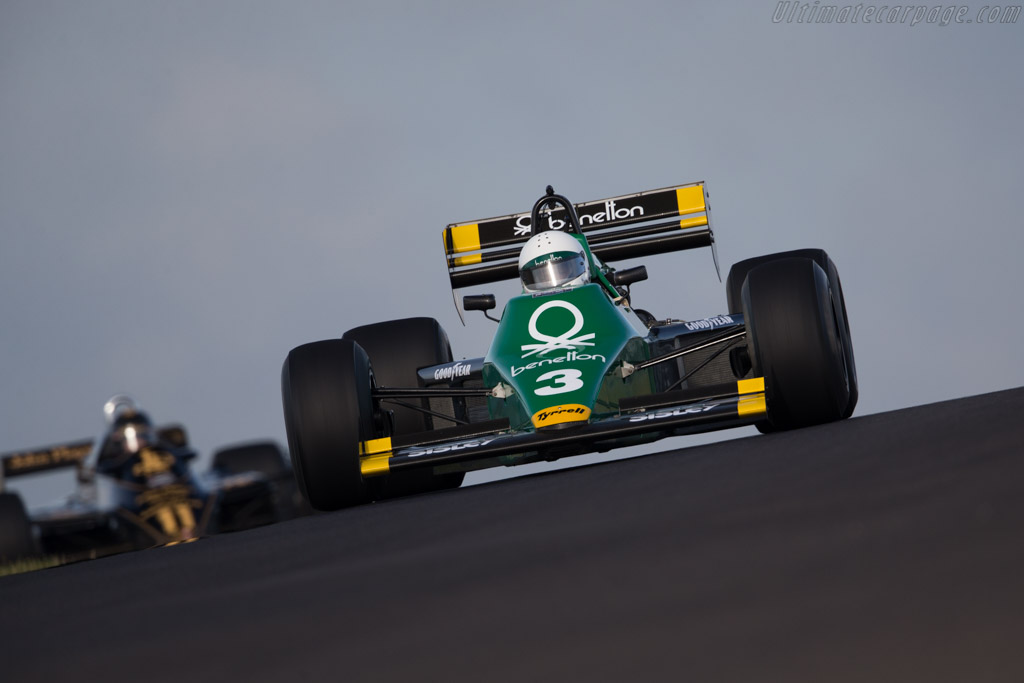 Tyrrell 012 Cosworth - Chassis: 012/1 - Driver: Ian Simmonds  - 2016 Historic Grand Prix Zandvoort