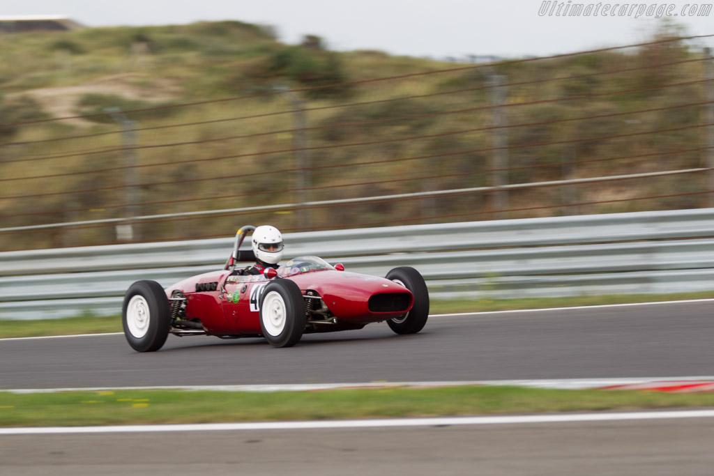 Wainer FJ  - Driver: Carlo Maria del Conte  - 2016 Historic Grand Prix Zandvoort
