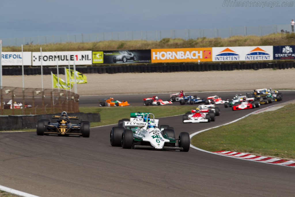 Williams FW07C Cosworth  - Driver: Nick Padmore  - 2016 Historic Grand Prix Zandvoort