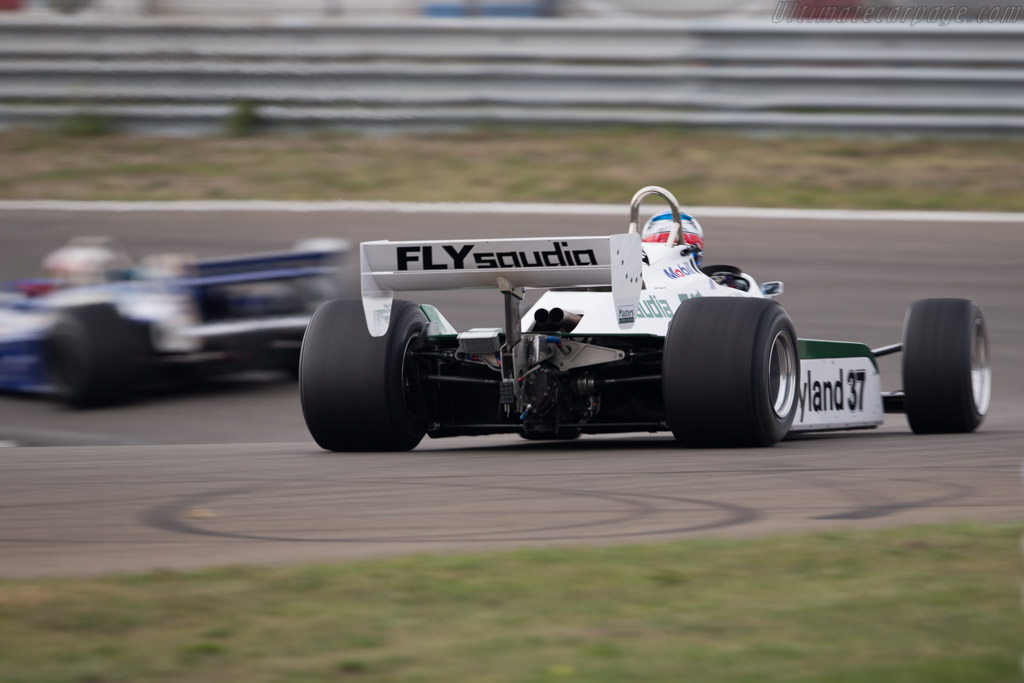 Williams FW07C Cosworth - Chassis: FW07C/11 - Driver: Christophe d'Ansembourg  - 2016 Historic Grand Prix Zandvoort