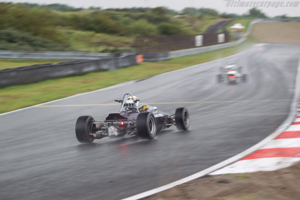 Brabham BT21  - Driver: Gregan Thruston  - 2017 Historic Grand Prix Zandvoort