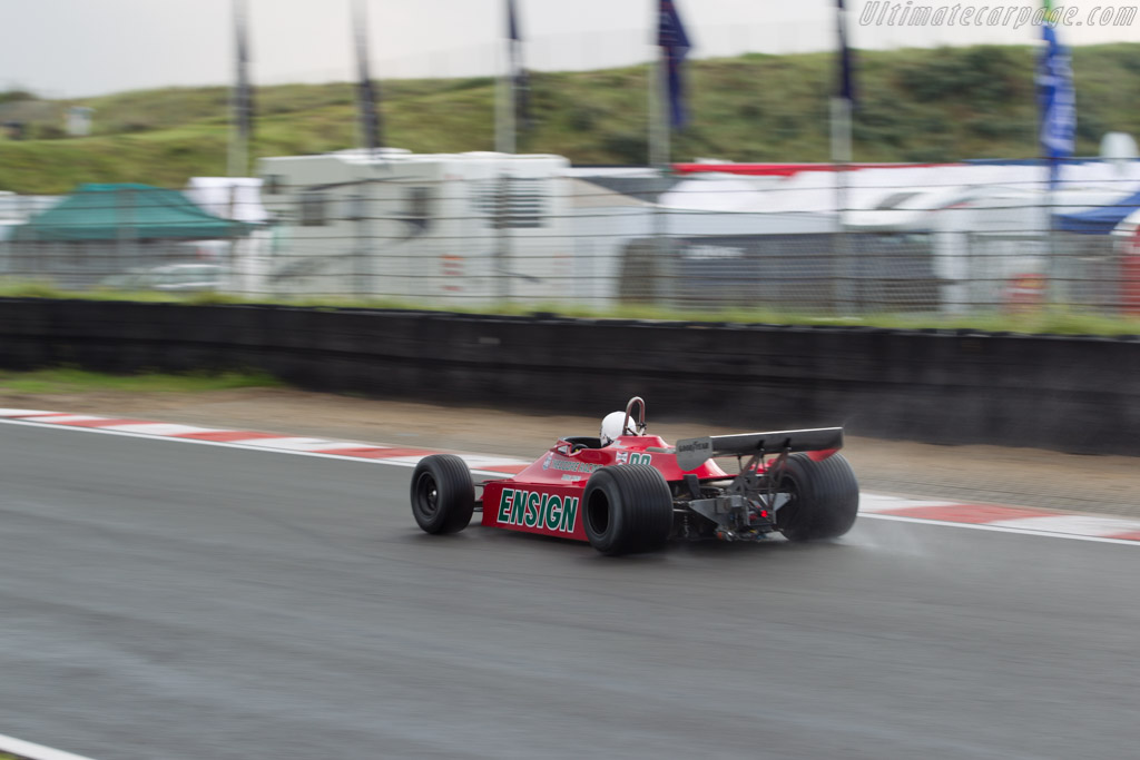 Ensign N179 - Chassis: MN09 - Driver: Paul Tattersall  - 2017 Historic Grand Prix Zandvoort