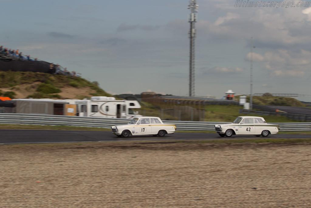 Ford Lotus Cortina  - Driver: Steve Soper  - 2017 Historic Grand Prix Zandvoort
