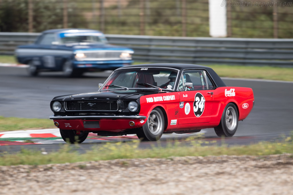 Ford Mustang - Chassis: 5R07C533336 - Driver: Olivier Hart  - 2017 Historic Grand Prix Zandvoort