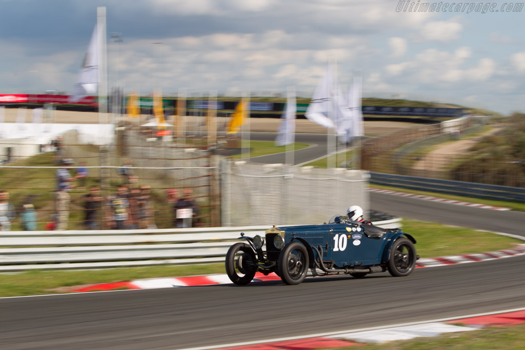 Frazer Nash Supersports  - Driver: Charles Gillett  - 2017 Historic Grand Prix Zandvoort