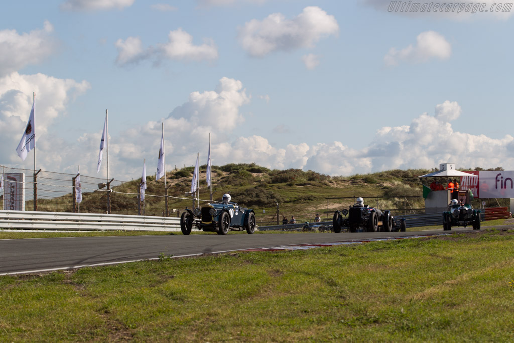 Frazer Nash Supersports  - Driver: Charles Gillett  - 2017 Historic Grand Prix Zandvoort