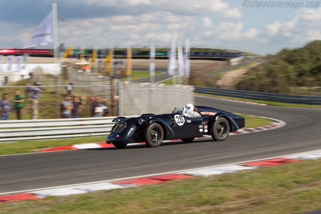 Hotchkiss AM80  - Driver: Steve Smith  - 2017 Historic Grand Prix Zandvoort