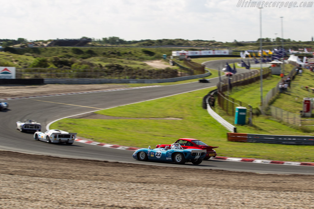 Lola T70 Mk1 Spyder - Chassis: SL70-12 - Driver: Michiel Smits  - 2017 Historic Grand Prix Zandvoort