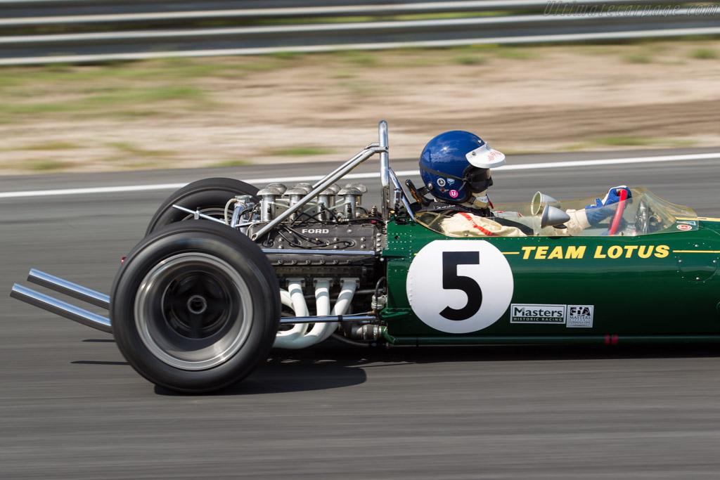 Lotus 49 - Chassis: R2 - Driver: Chris MacAllister  - 2017 Historic Grand Prix Zandvoort