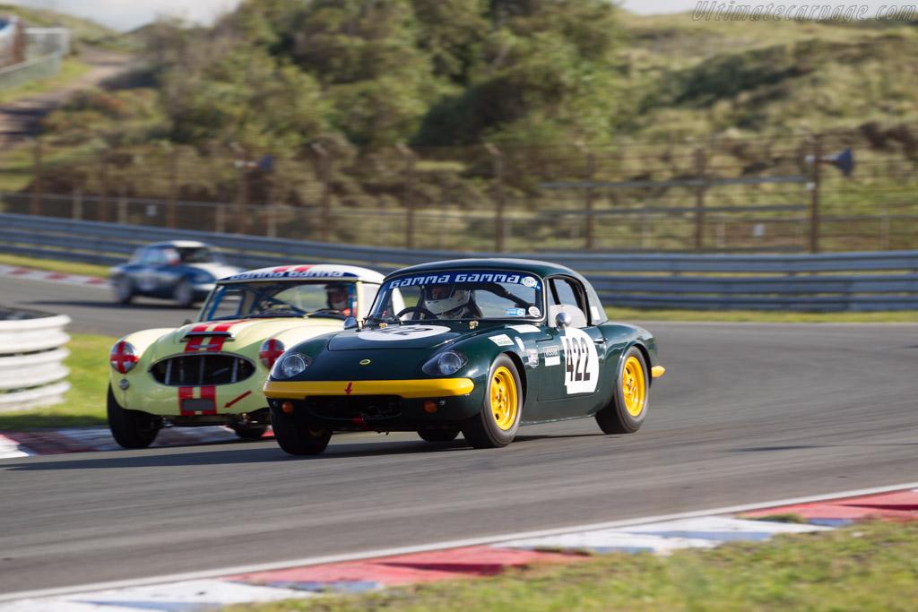 Lotus Elan  - Driver: Thomas Kargus  - 2017 Historic Grand Prix Zandvoort