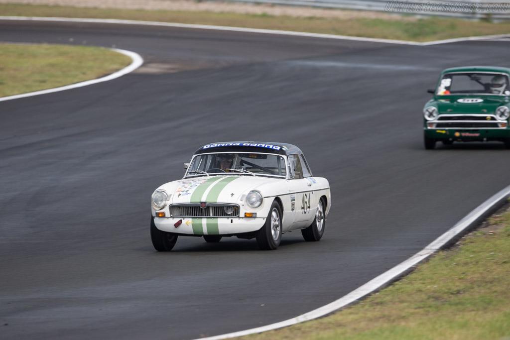 MG B  - Driver: Egbert Kolvoort  - 2017 Historic Grand Prix Zandvoort