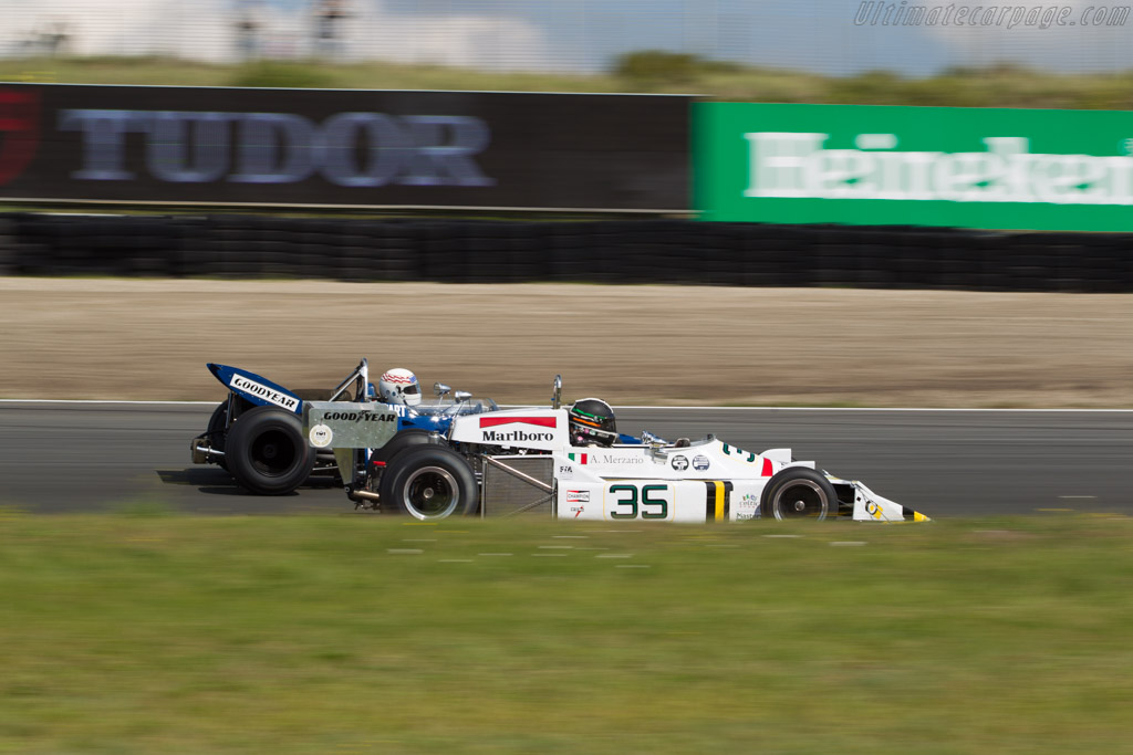 March 761 - Chassis: 761-04 - Driver: Tommy Dreelan  - 2017 Historic Grand Prix Zandvoort