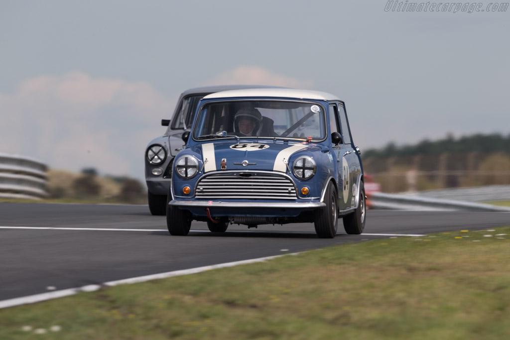 Morris Mini Cooper S  - Driver: Steve Jones  - 2017 Historic Grand Prix Zandvoort