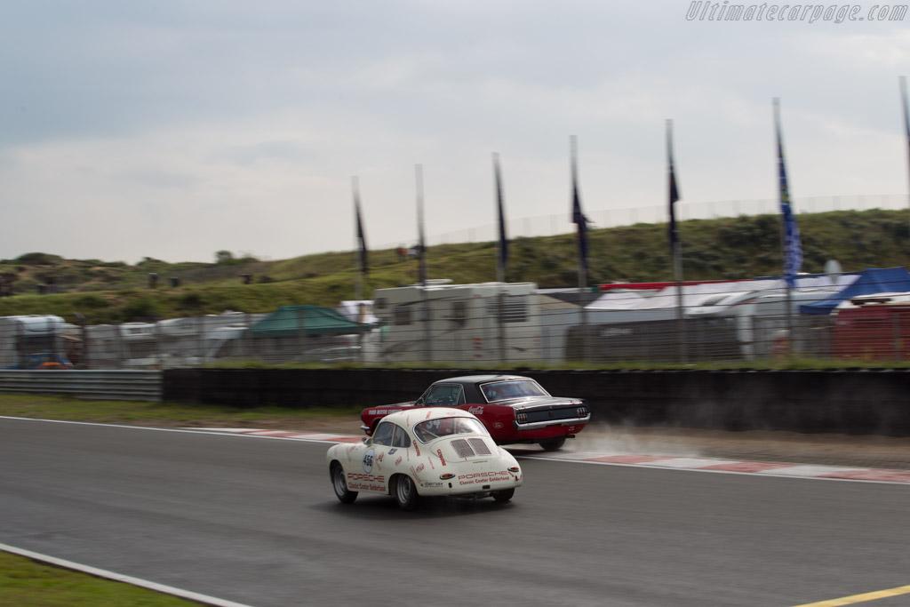 Porsche 356 SC  - Driver: Charles Köhnen  - 2017 Historic Grand Prix Zandvoort