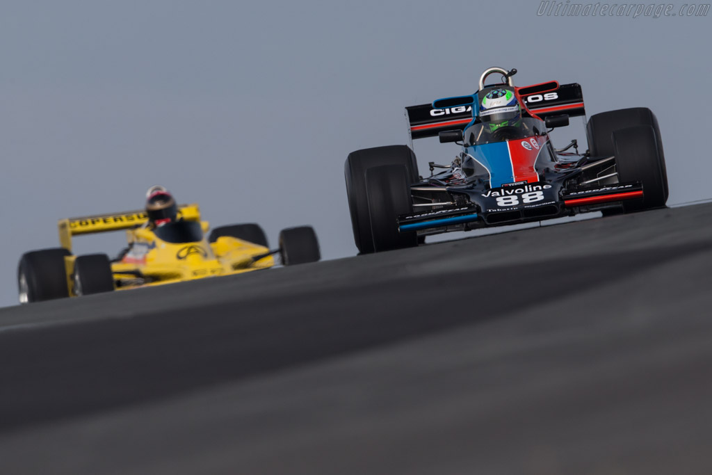 Shadow DN5 - Chassis: DN5-5B - Driver: Nick Padmore  - 2017 Historic Grand Prix Zandvoort
