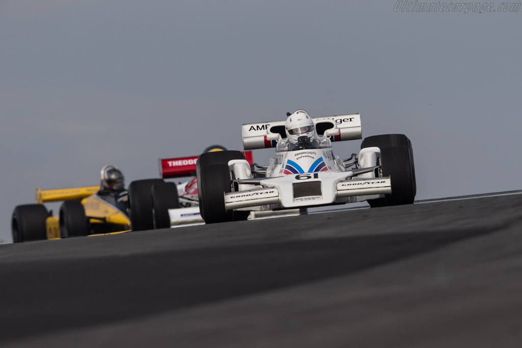 Shadow DN8 - Chassis: DB8/6A - Driver: Jason Wright  - 2017 Historic Grand Prix Zandvoort