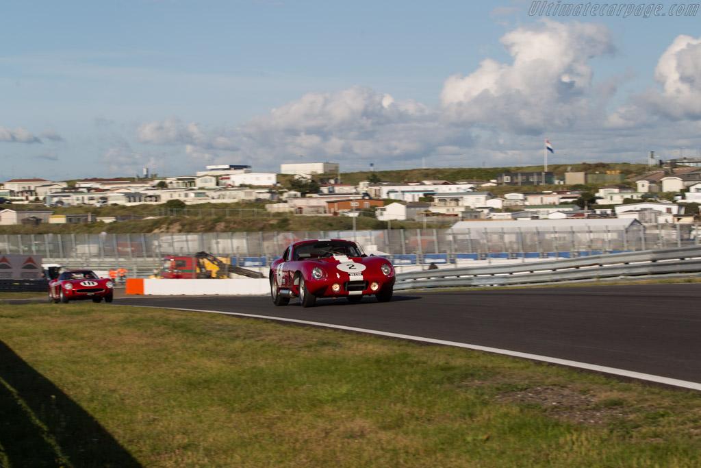 Shelby Daytona Cobra  - Driver: Leo Voyazides  - 2017 Historic Grand Prix Zandvoort