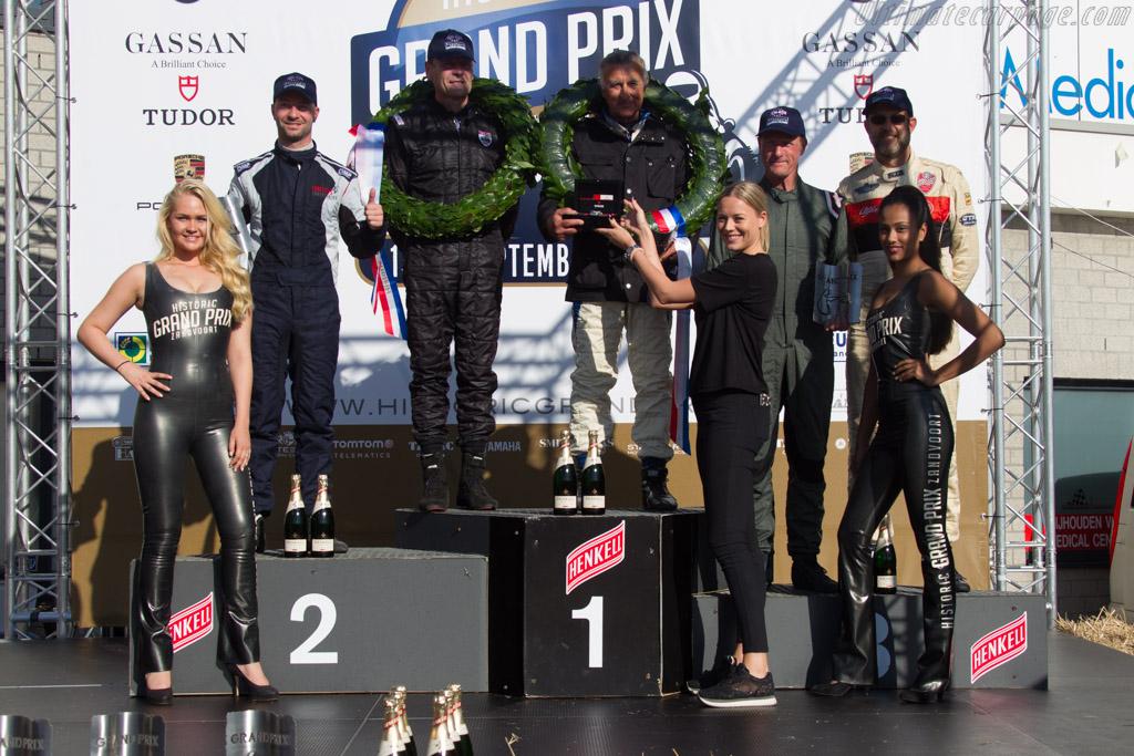 The podium    - 2017 Historic Grand Prix Zandvoort