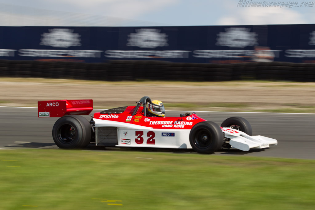 Theodore TR1 - Chassis: TR1/2 - Driver: Philip Hall  - 2017 Historic Grand Prix Zandvoort
