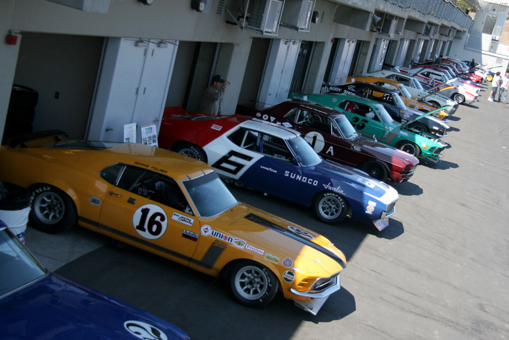 1966-1972 Historic Trans-Am Cars    - 2005 Monterey Historic Automobile Races