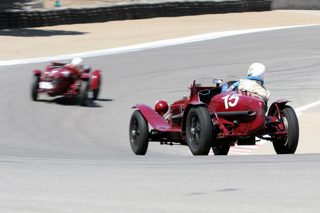Alfa Romeo 8C 2600    - 2005 Monterey Historic Automobile Races