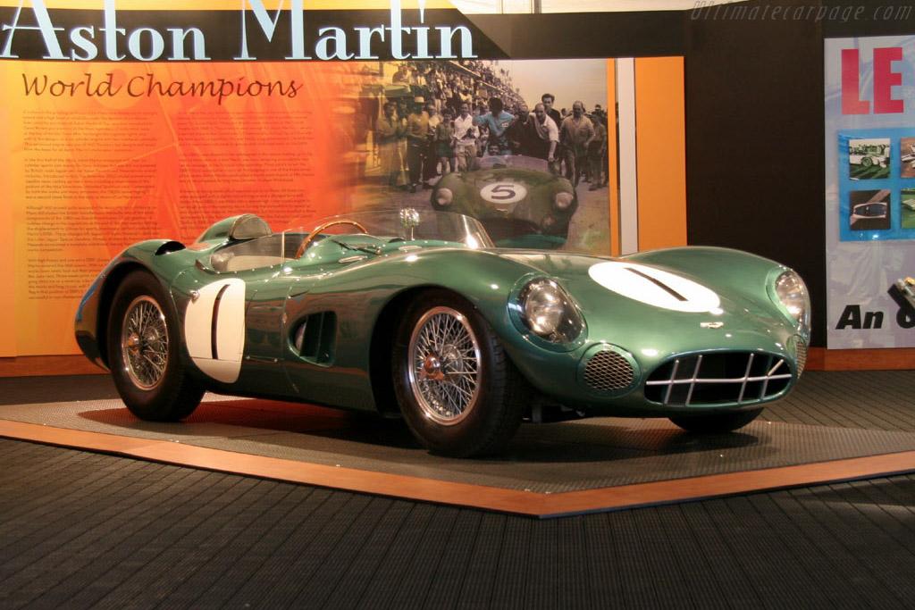 Aston Martin DBR1 - Chassis: DBR1/1 - Entrant: John & Gwen McCaw  - 2005 Monterey Historic Automobile Races